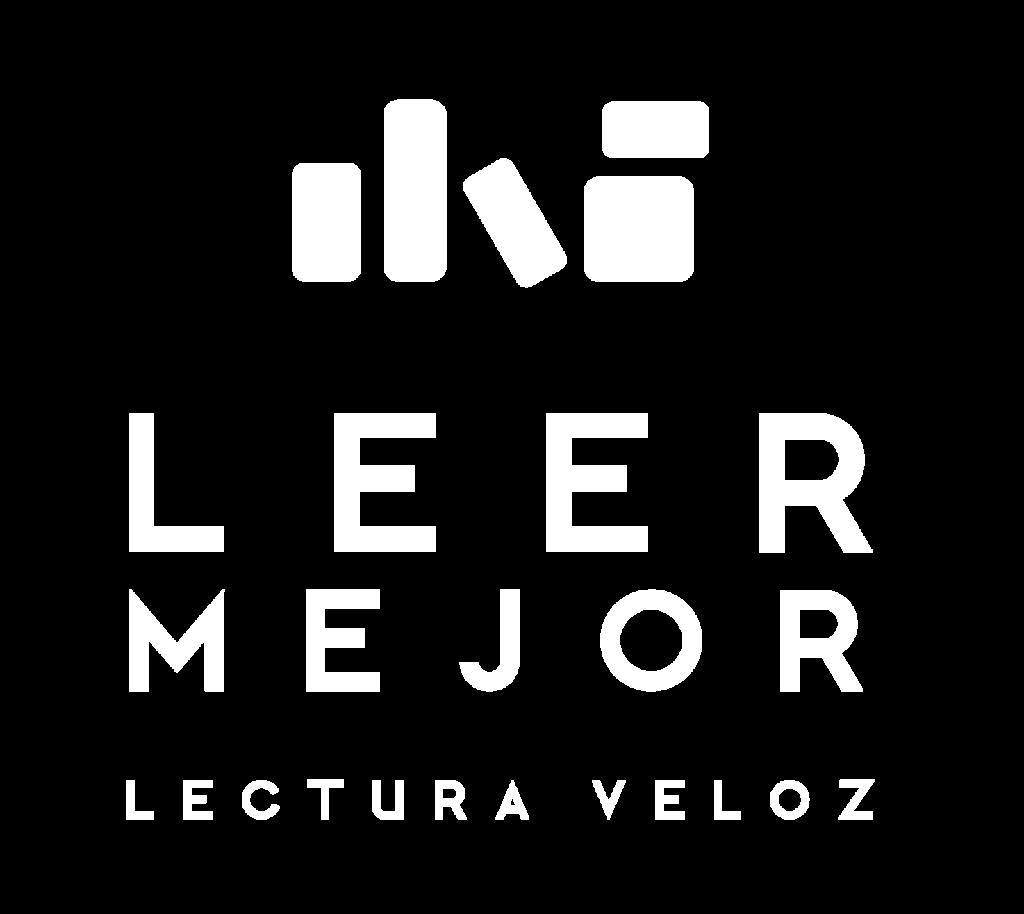 Leer Mejor - Logo blanco transparente